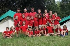 Kamp Antwerpen Afdelingsfoto